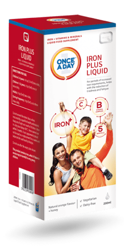 Once A Day Iron Plus Liquid