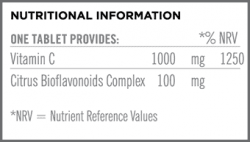 Once Day Immune C Nutritional Information