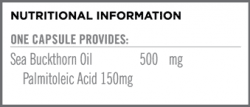 Sea Buckthorn Oil Nutritional Information